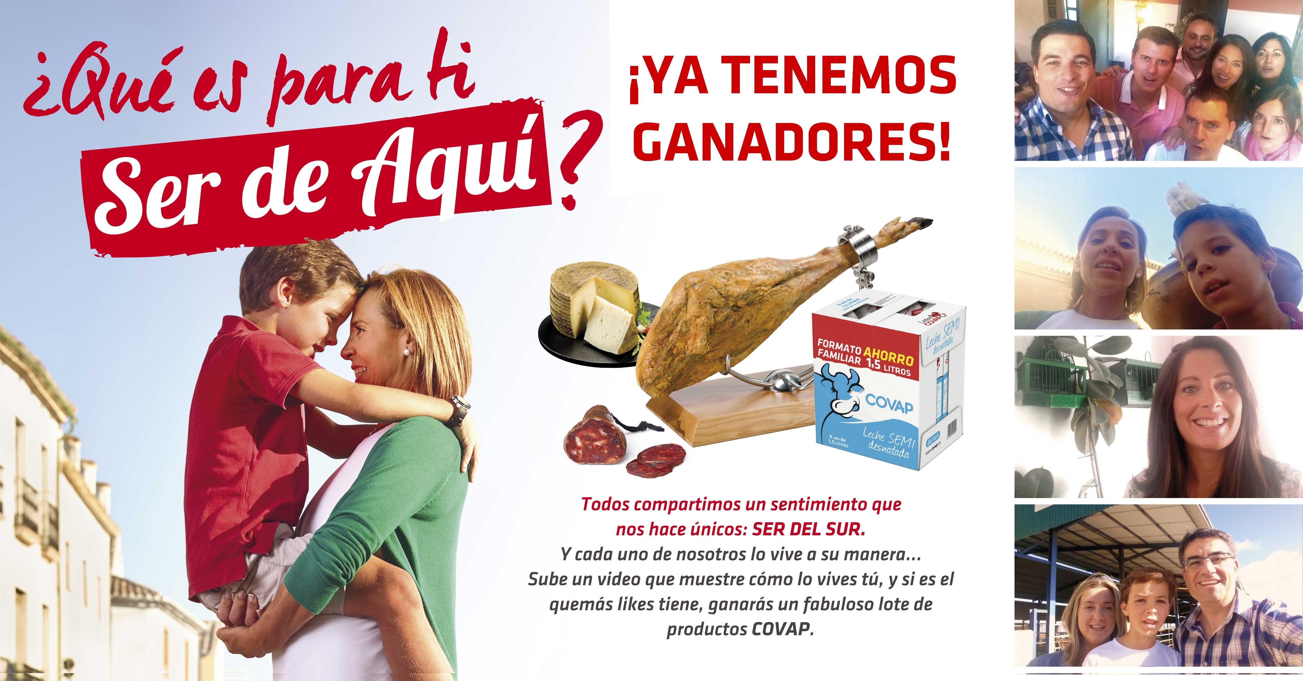Concurso SerdeAqui, pack covap