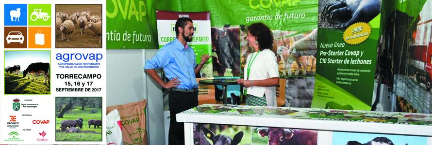 AGROVAP patrocinado por COVAP ha contado con más de 8.000 visitantes.