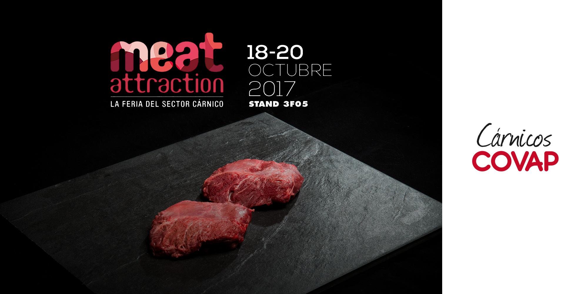"""Covap participa en la Feria del Sector Cárnico """"Meat Attraction"""" En Madrid."""