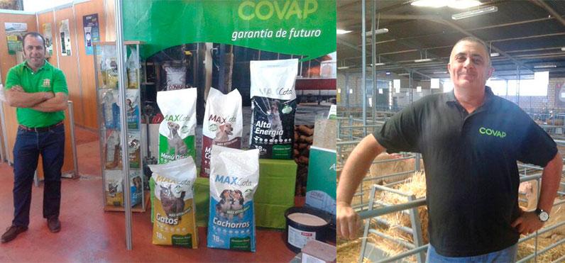 alimentacion animal covap asiste a el salon del ovino