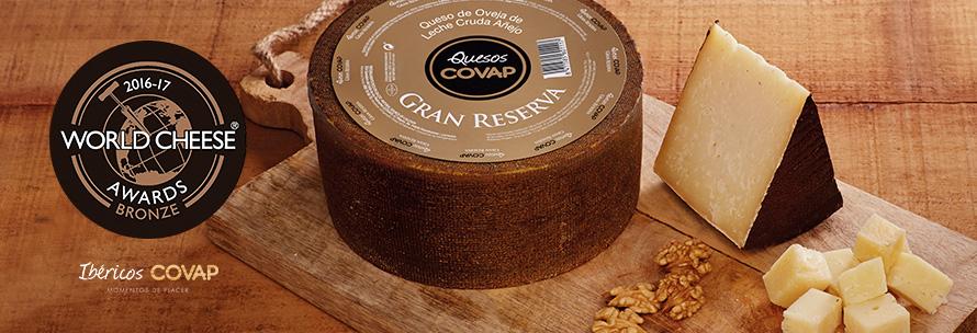 El queso de oveja de COVAP, galardonado en los World Cheese Award