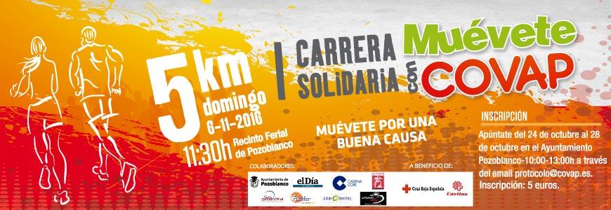 I Carrera Solidaria Muévete con COVAP