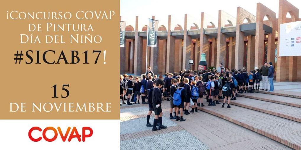 5000 escolares andaluces participarán en el concurso  de pintura infantil patrocinado por COVAP en SICAB 2017