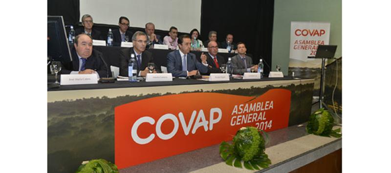 covap celebra su asamblea general 2014
