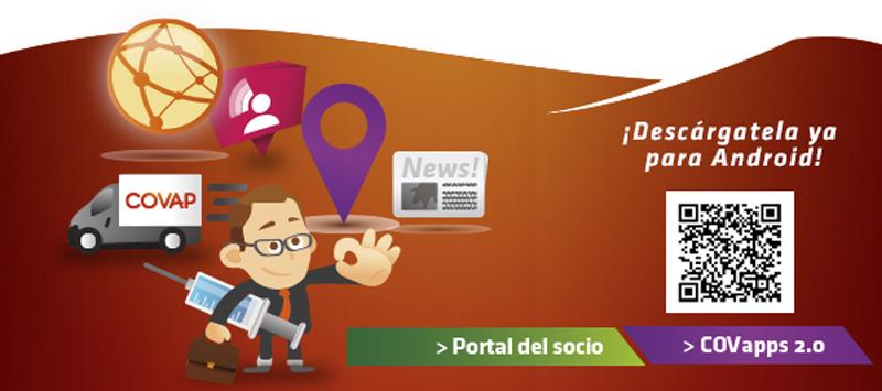 lanzamiento del portal de socio y covapps