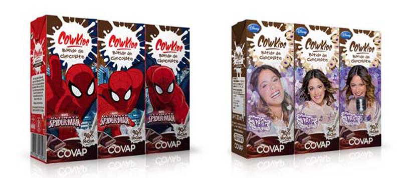 nuevo diseño batido chocolate cowkids