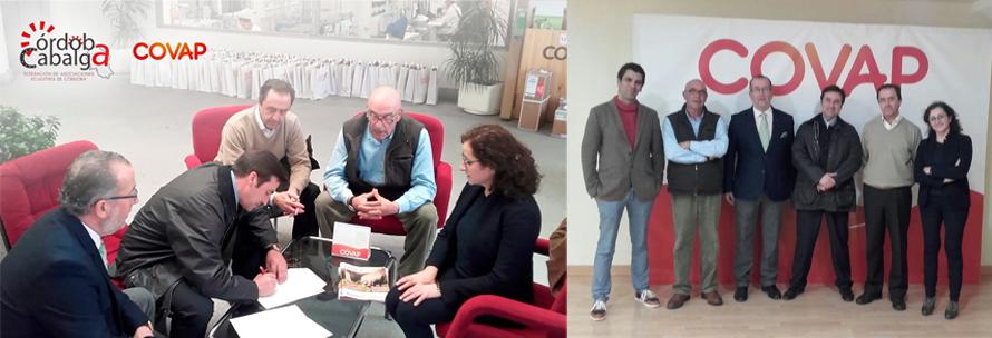 Acuerdo entre COVAP y la ``Federación Cordoba Cabalga´´