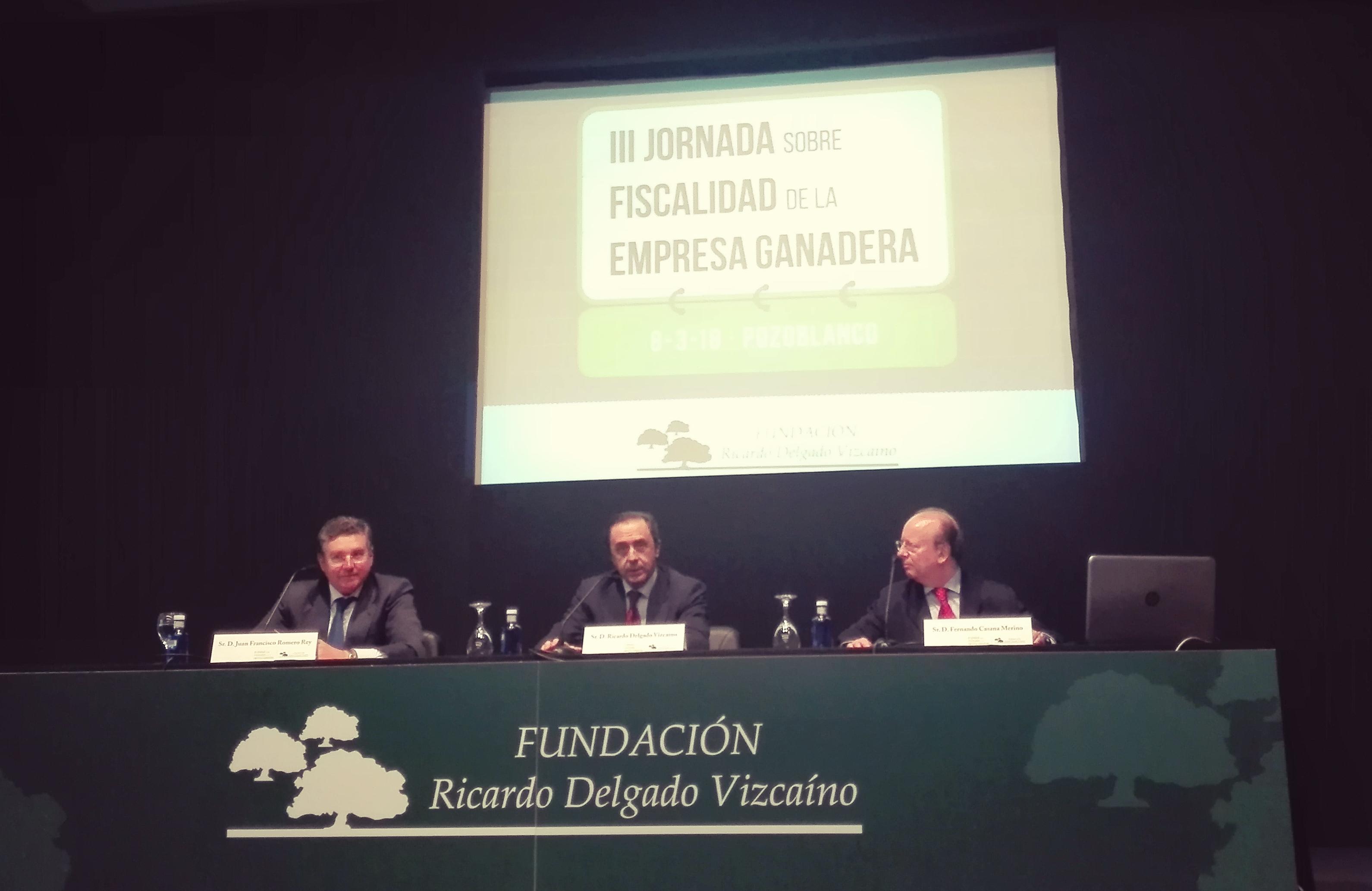 Jornadas de Fiscalidad de la fundación Ricardo Delgado Vizcaíno