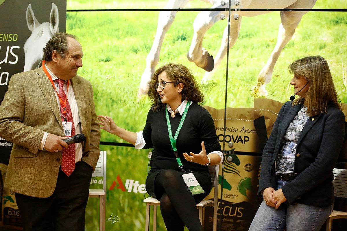 Alimentación Animal COVAP presenta el nuevo pienso ECUS Cría en el Salón Internacional del Caballo (SICAB)| COVAP