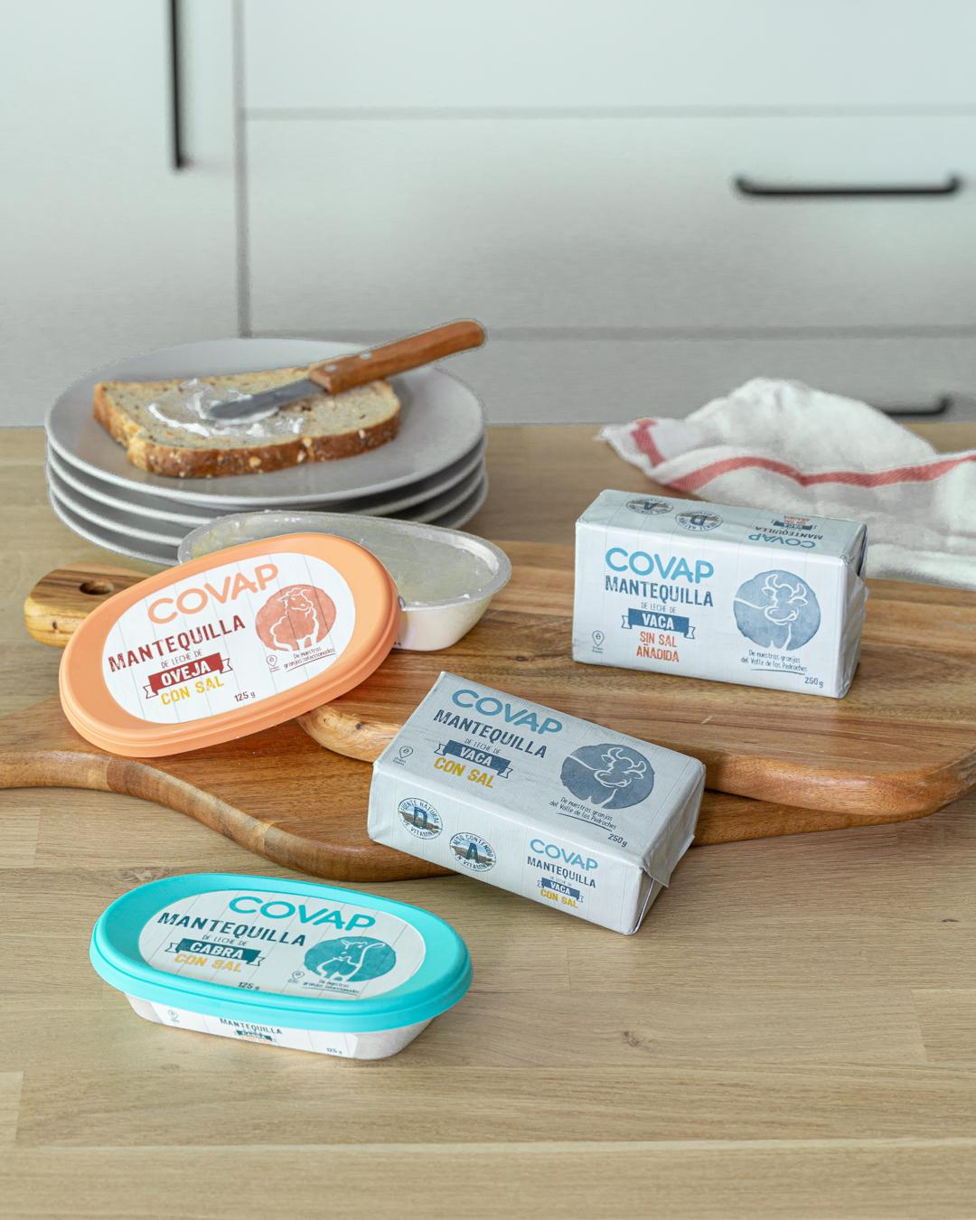 Mantequillas COVAP | Lácteos COVAP