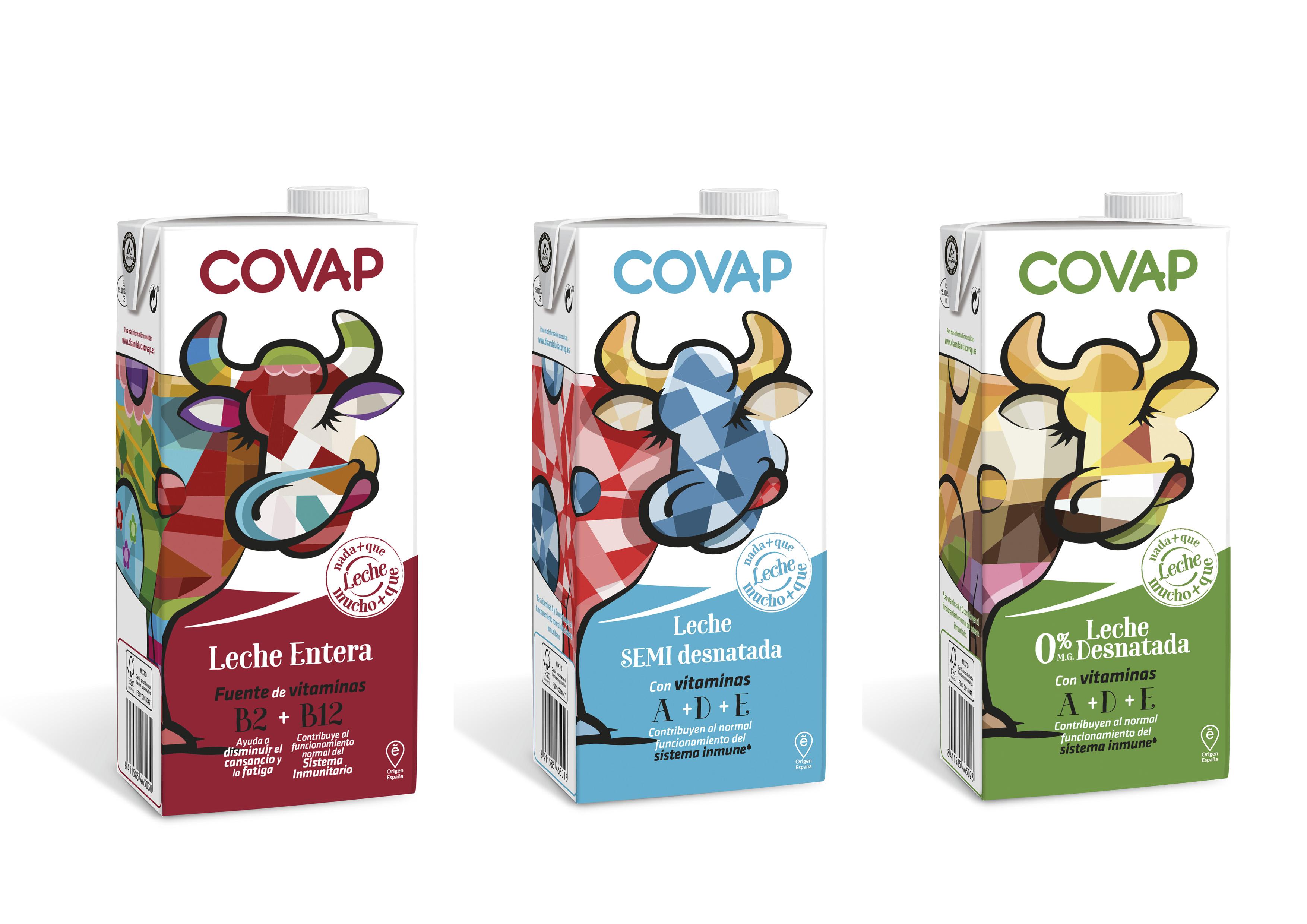 Lácteos COVAP lanza un envase exclusivo diseñado por jóvenes andaluces | COVAP