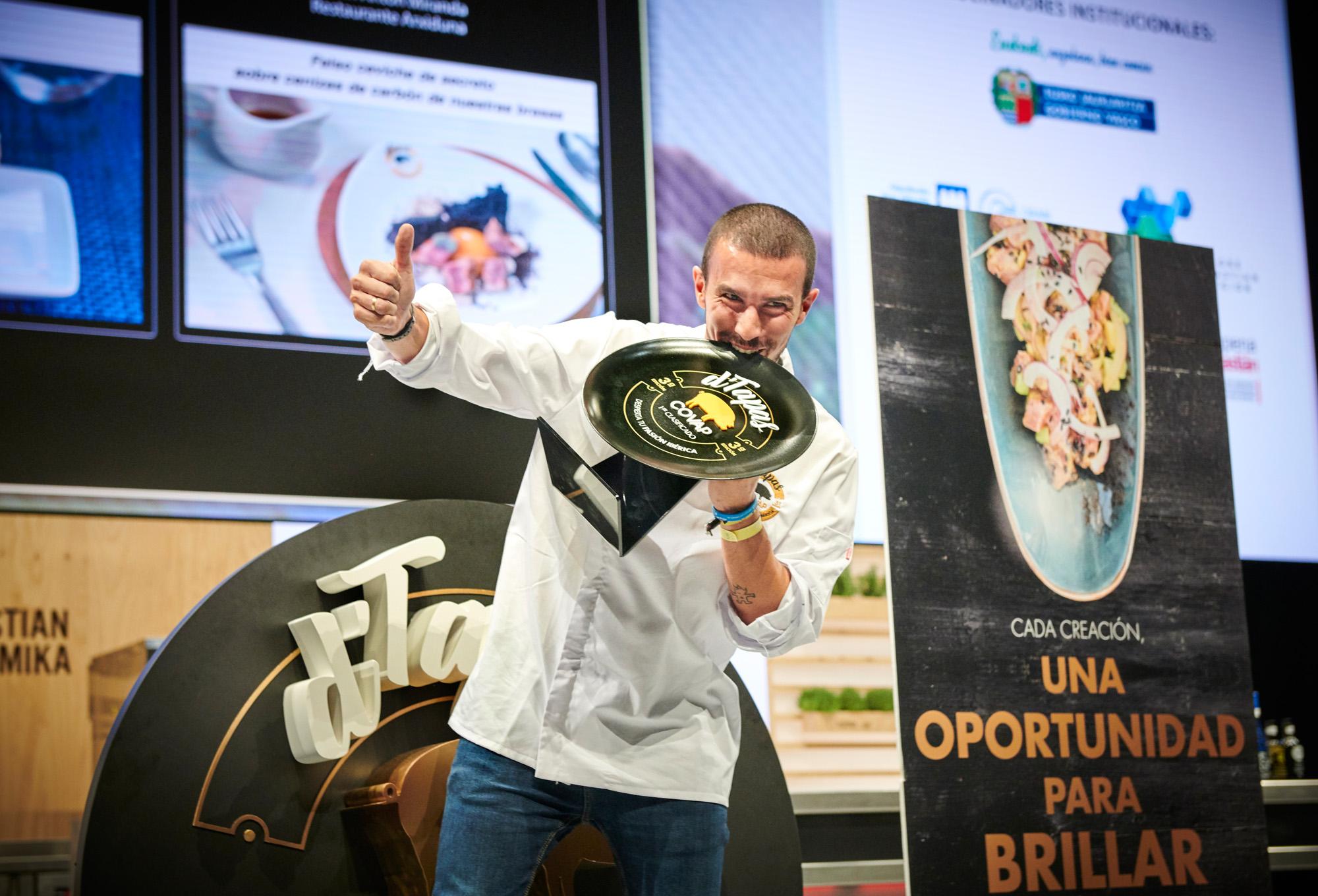 Rubén Antón Ganador de D'Tapas 2018 | COVAP