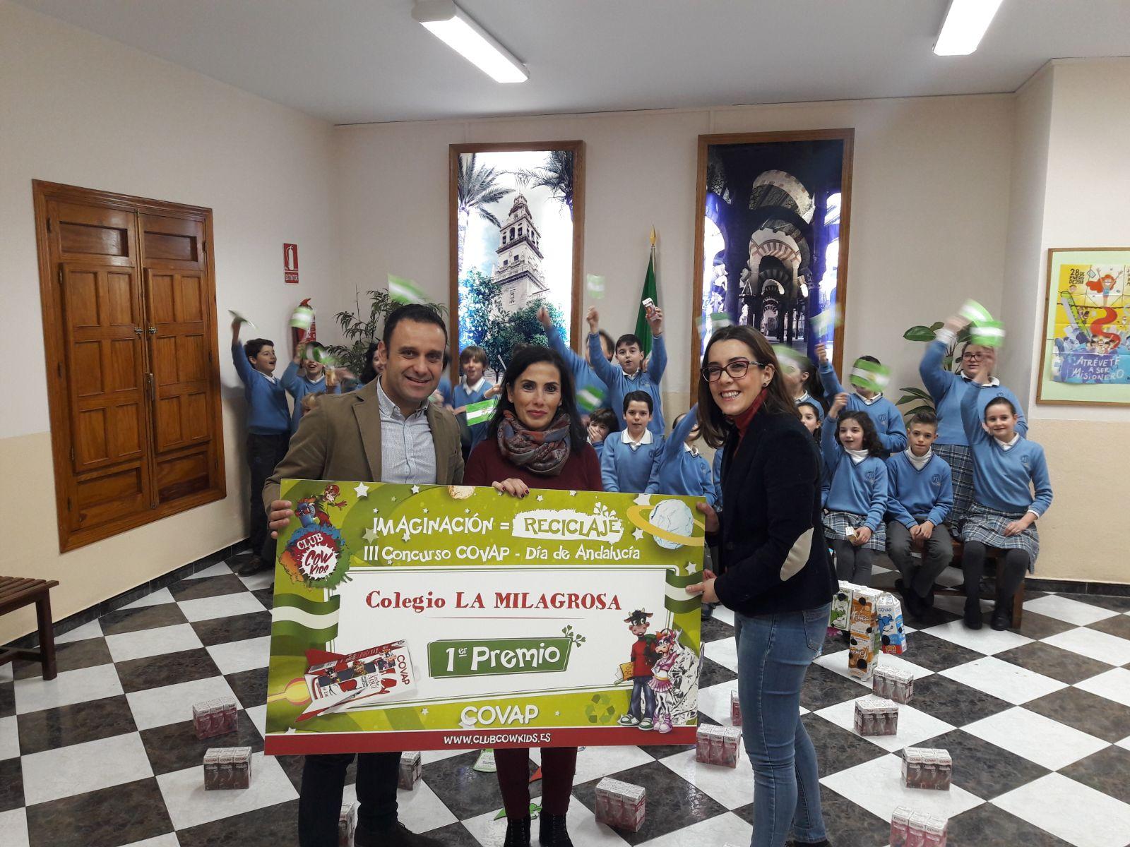 Premiados del III Concurso de Día de Andalucía de reciclaje