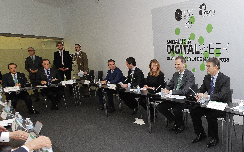 Encuentro del Rey Felipe VI con empresas andaluzas | COVAP