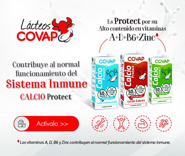 Nueva gama Calcio Protect de Lácteos COVAP | COVAP