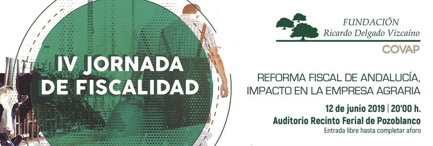 Jornada Sobre Fiscalidad de la Empresa Agraria | Fundación Ricardo Delgado Vizcaíno