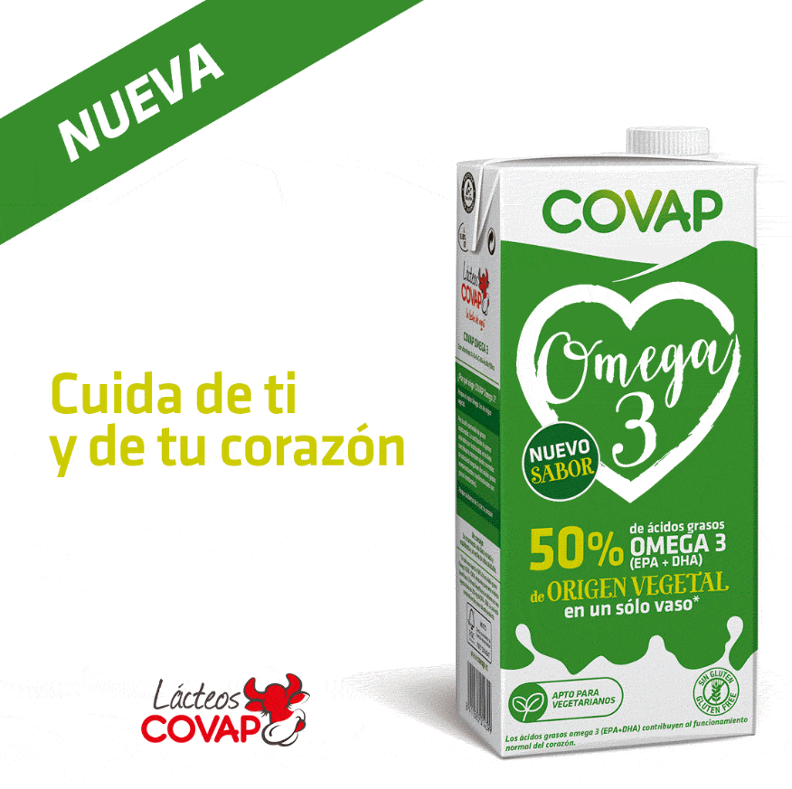 Nueva Leche Omega 3 COVAP