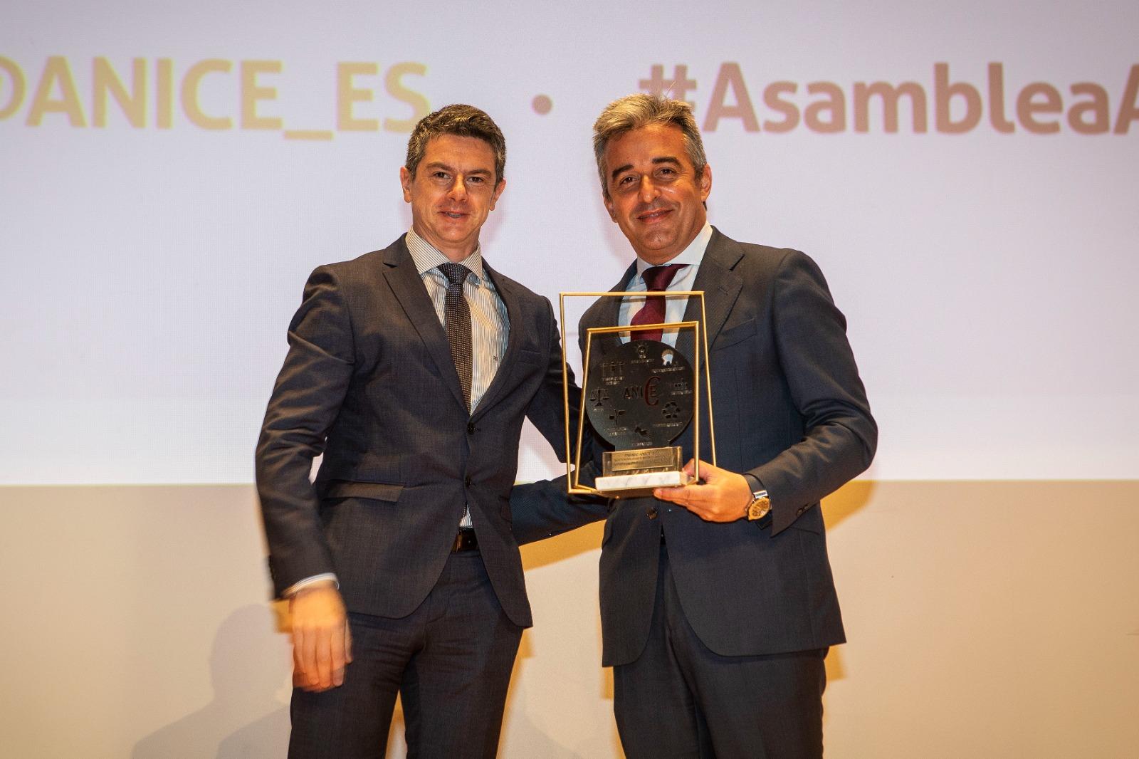 COVAP recibe el premio ANICE en la categoría de sostenibilidad y medio ambiente | COVAP