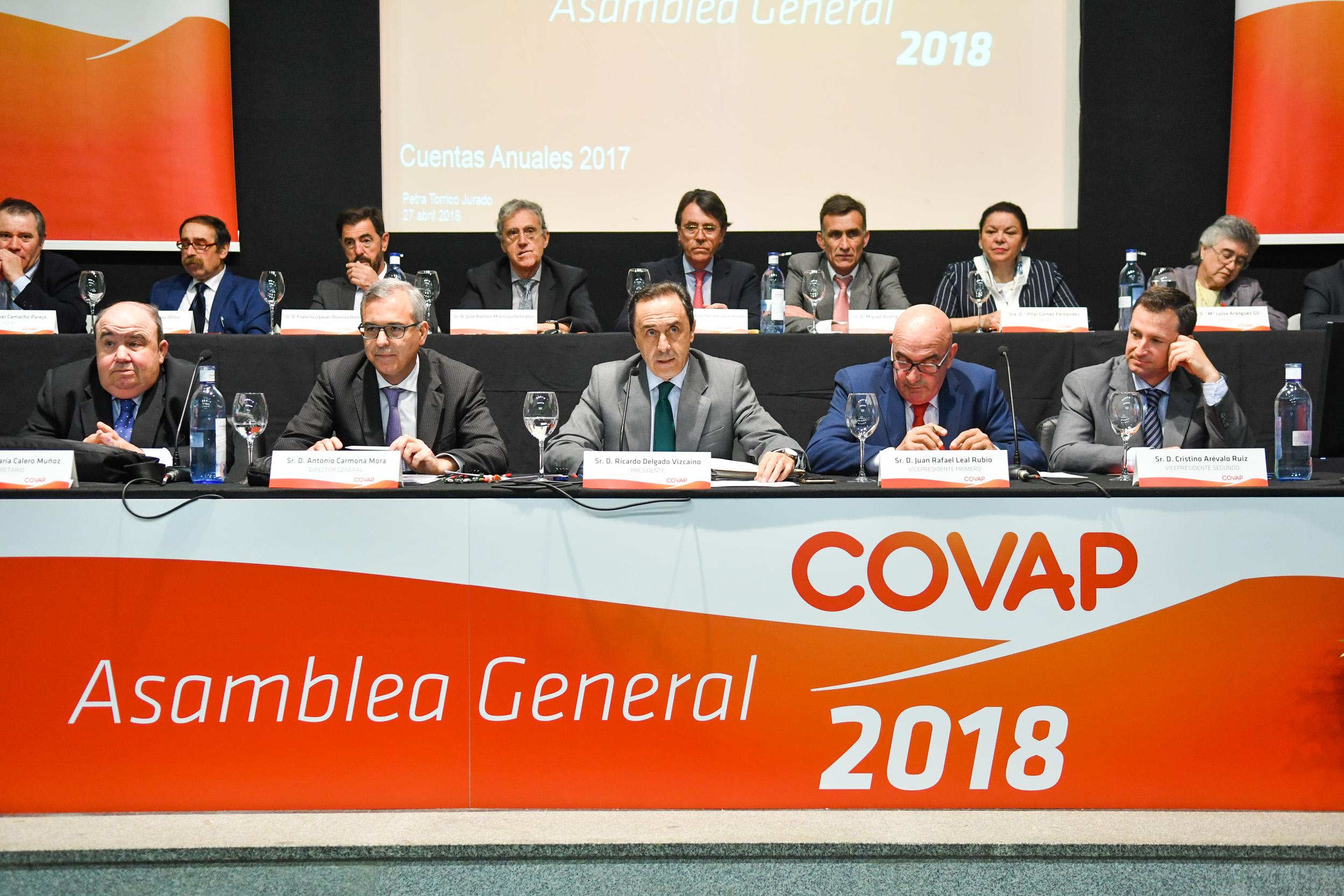 Asamblea General COVAP 2018