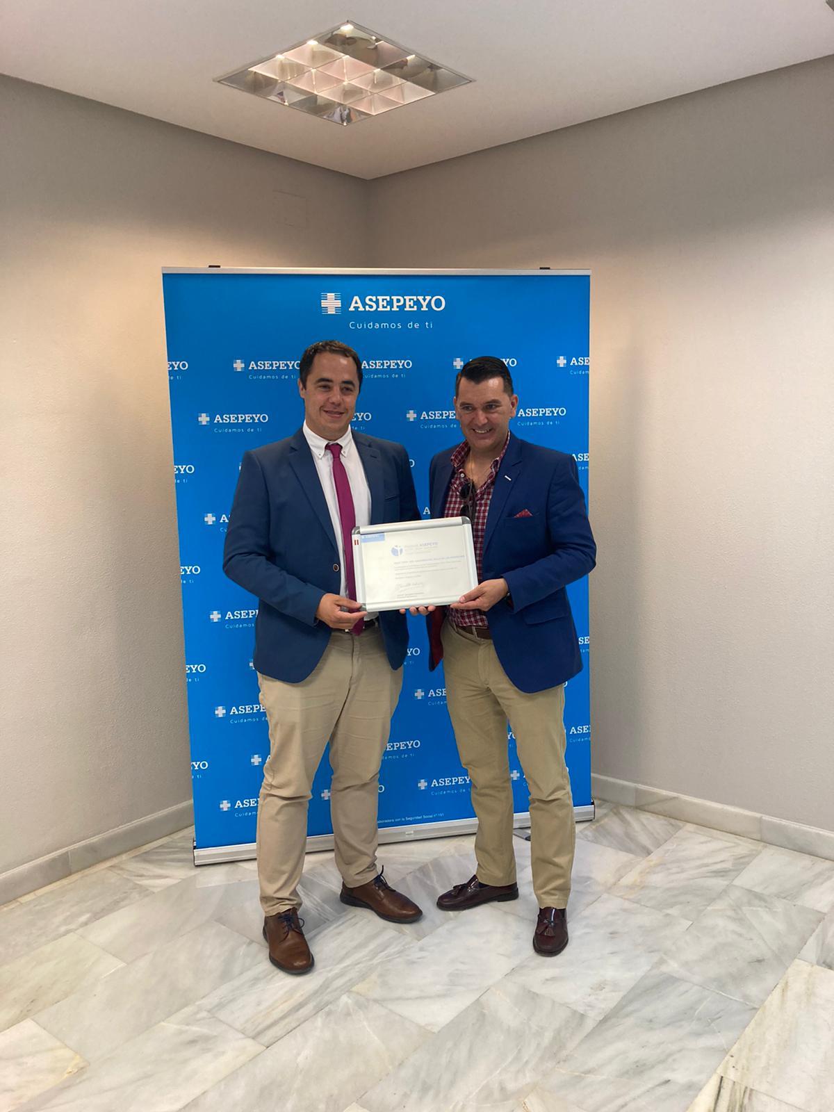 COVAP recibe un reconocimiento en la IX Edición Premios Asepeyo Antoni Serra Santamans a las mejores prácticas preventivas | COVAP