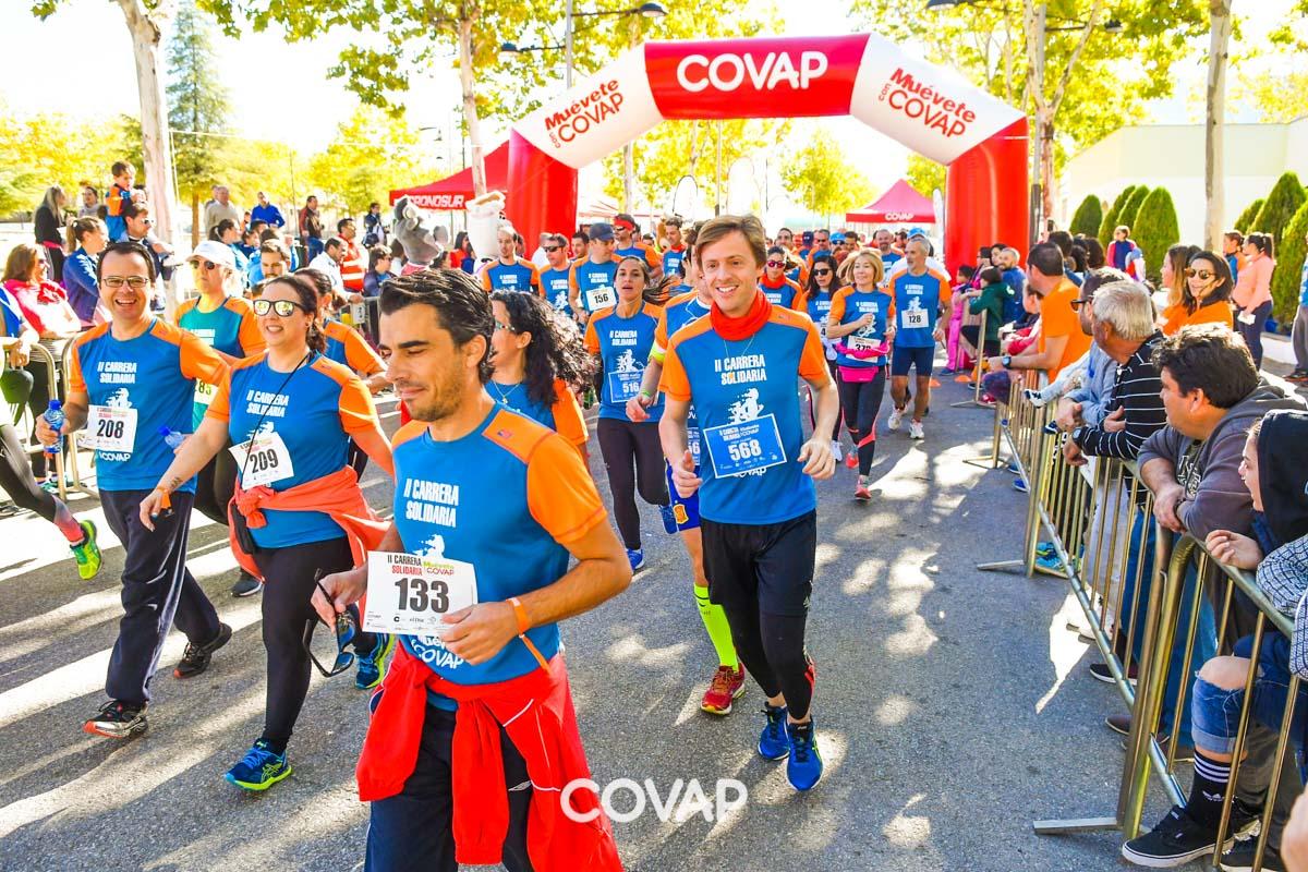 II Carrera Solidaria Muévete con COVAP