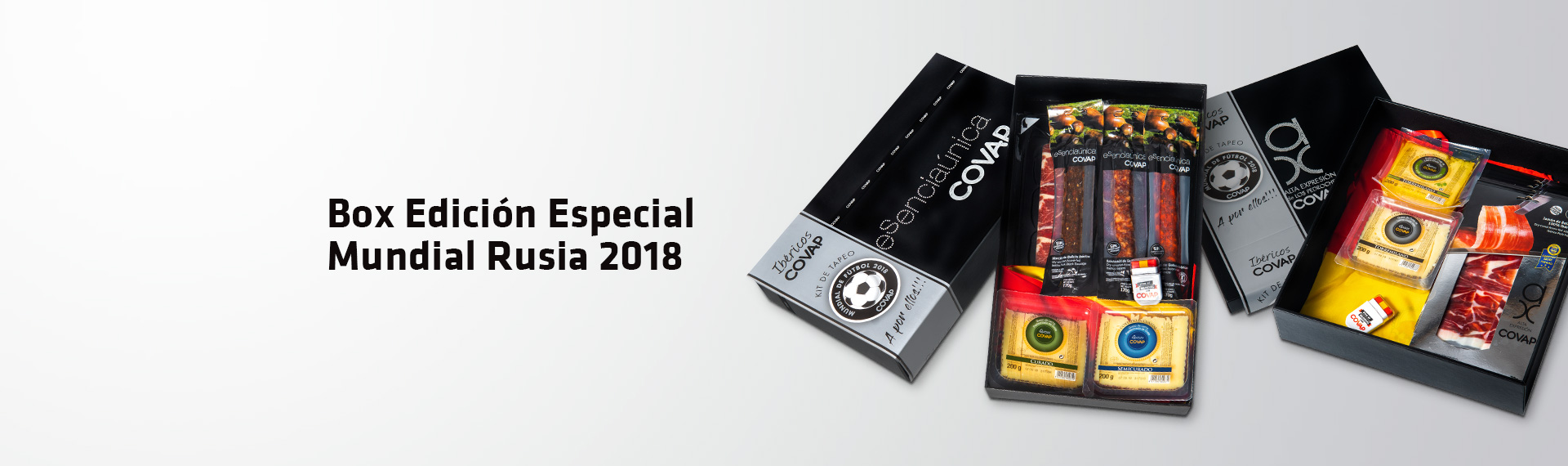 Box Picoteo Mundial Rusia 2018 | Ibéricos COVAP