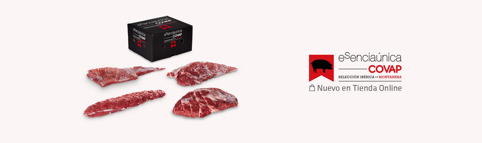 Carne fresca de bellota 100% ibérica de Montanera | Esenciaúnica COVAP