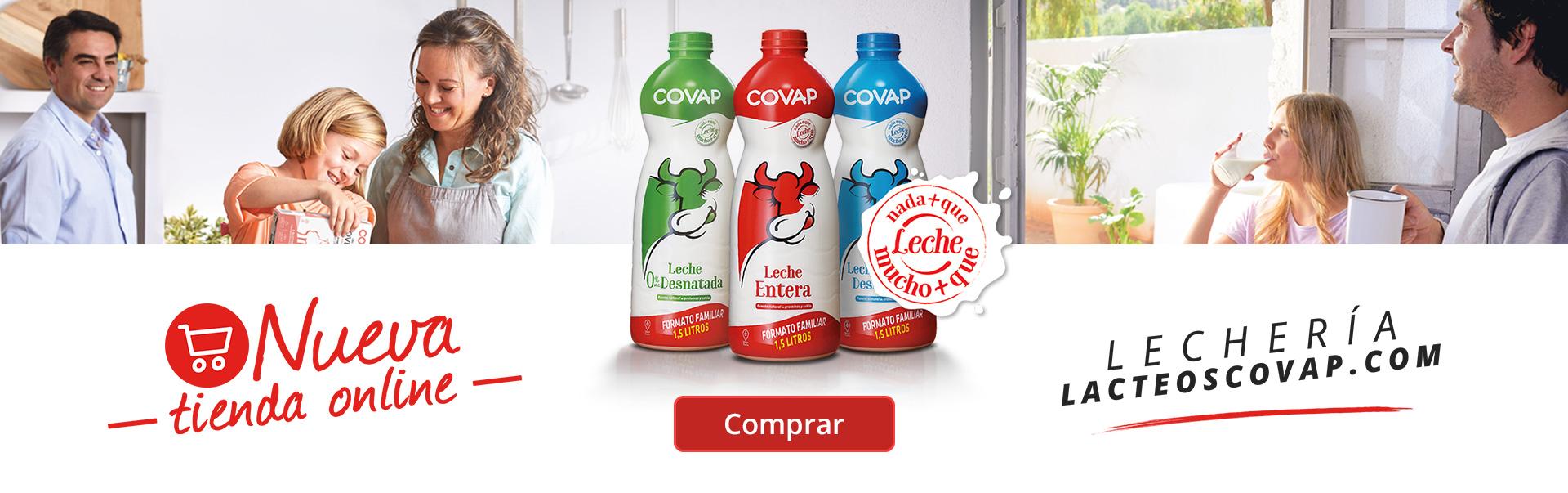 La Lechería de Lácteos COVAP | Lácteos COVAP